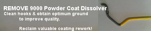 Powder Coat Dissolver, REMOVE 9000 Powder Coating Dissolver